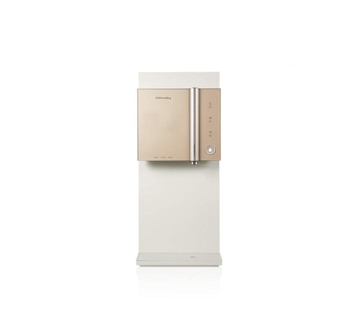 [G] 코웨이 한뼘 시루직수 냉온정수기 쿼츠브라운 CHP-8300R / 월37,900원