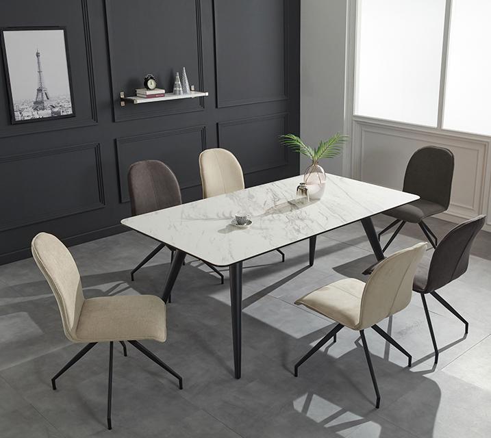 로자 천연 세라믹 6인용 식탁 테이블 [의자 미포함] / 월 39,800원