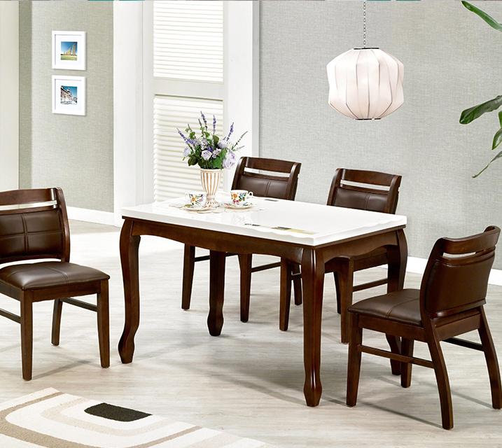 블란치 천연대리석 2인 식탁 (의자형 / 의자 2ea) / 월 19,800원