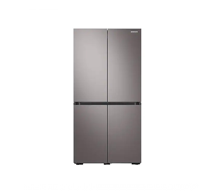 [L] 삼성 냉장고 4도어 비스포크 양문형 브라우니 실버 871L RF85T9013T1 / 월 58,700원