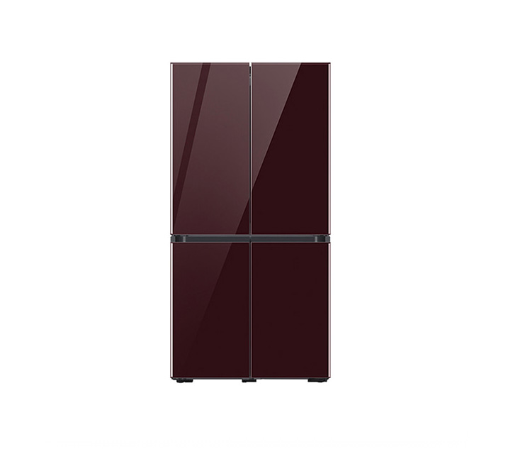 [L] 삼성 냉장고 4도어 비스포크 양문형 871L 글램버건디 RF85T901343 / 월 58,700원