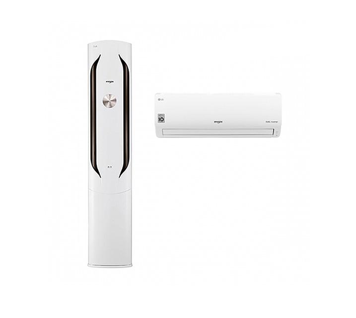 [L] LG  에어컨 휘센 스탠드형 20평 +7평 화이트 FQ20VAWWA2 / 월 64,900원