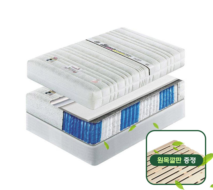 ★소나무 원목깔판 증정★ 7존매트리스 Q / 월 11,800원